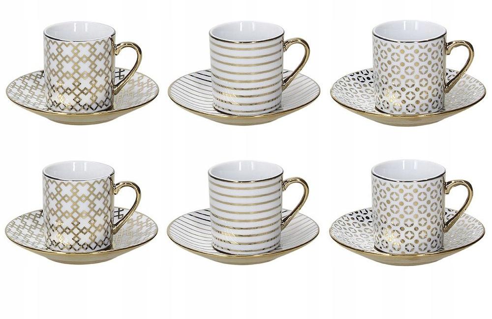 Набор из 6 чашек для эспрессо Tognana Empire 70 мл