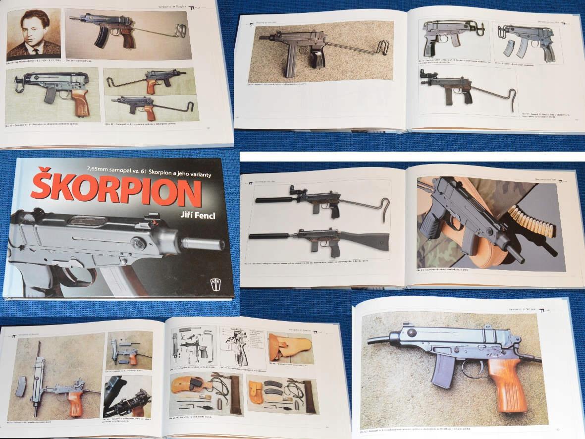 '7,65-мм пистолет-пулемет vz. 61 Скорпион '