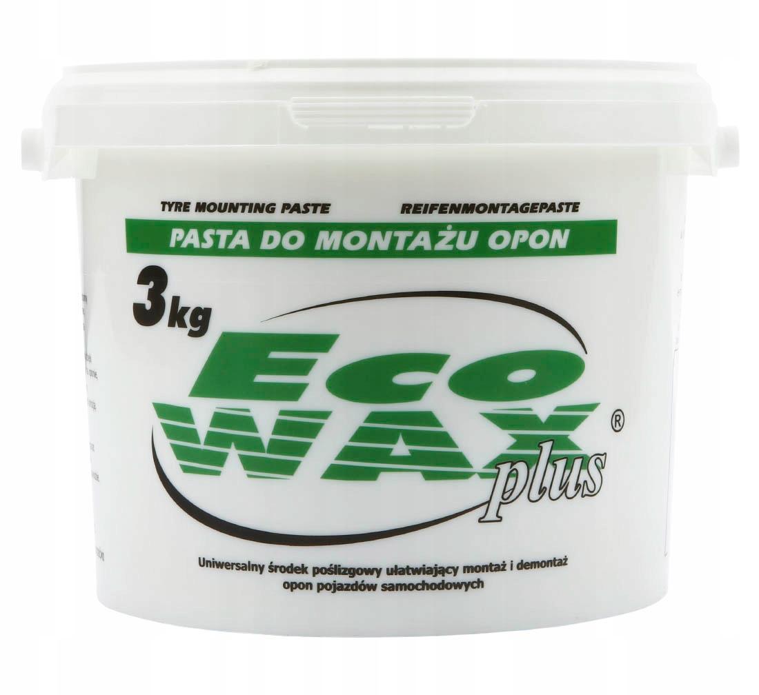 Паста для монтажа шин ECO WAX plus 3 кг мазь