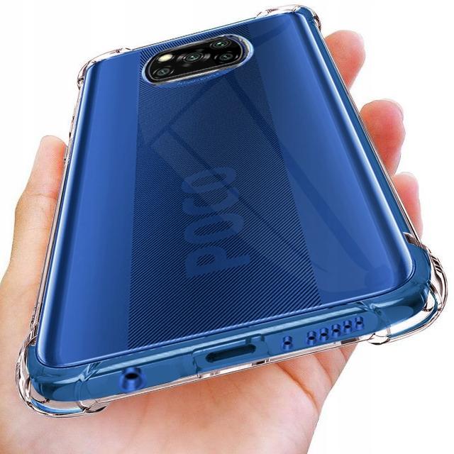 Etui do Xiaomi POCO X3 NFC ANTI-SHOCK + Szkło