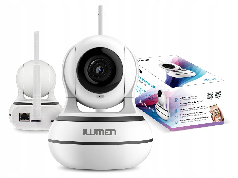 Kamera Hd Wifi Niania Elektroniczna Ilumen Cam-X3