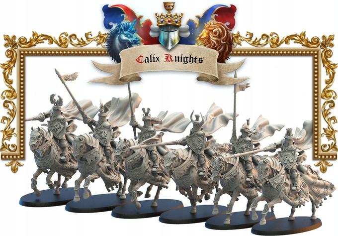 Kráľovstvo Mercia Calix Knights - Lost Kingdom