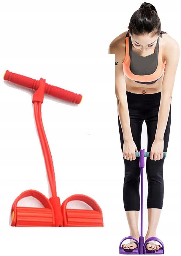 EXPANDER NA Cvičenie svalov brušných svalov pre nohy