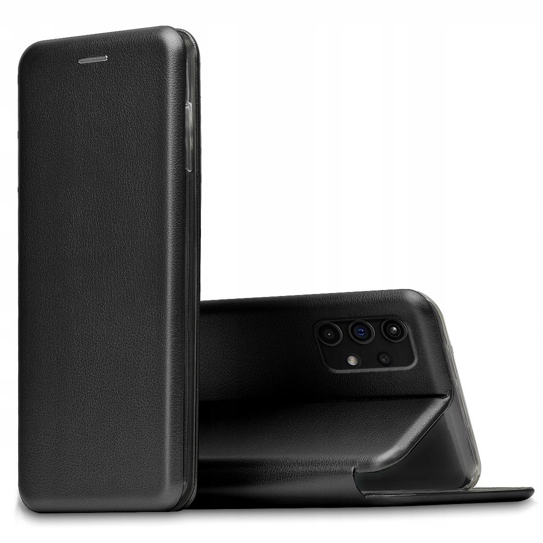 Etui do Samsung Galaxy A32 5G Skórzane Case +Szkło