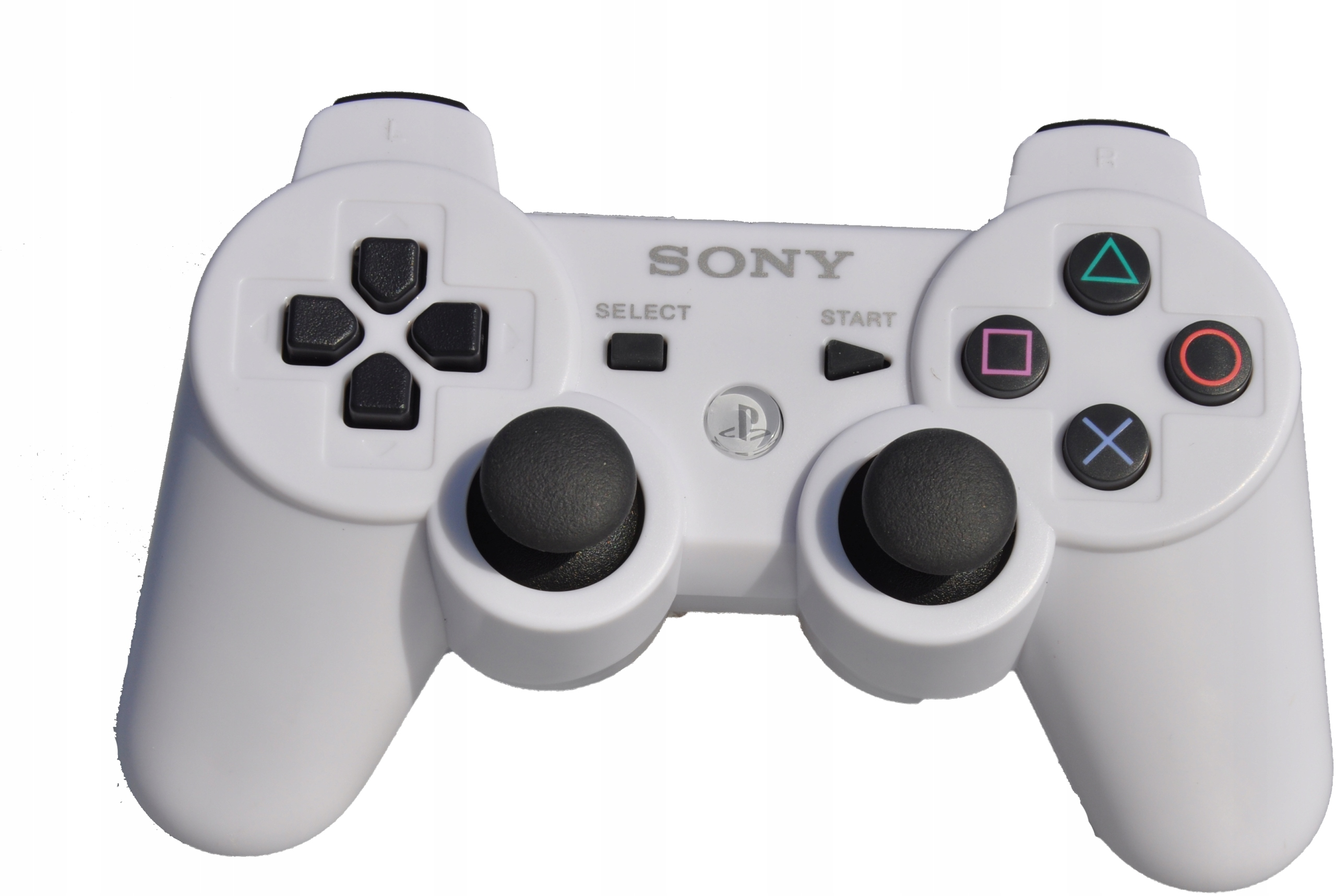 Item PAD SONY DUALSHOCK 3 WHITE PS3 WHITE +FREE SHIPPING