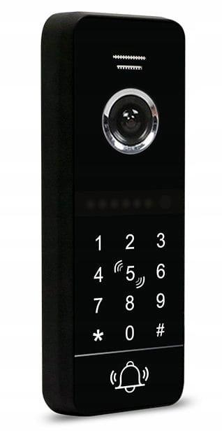 Wideodomofon 5tech CZYTNIK RFID FULL HD WIDEOFON Informacje dodatkowe Czytnik kart zbliżeniowych Ekran dotykowy Interkom Sterowanie napędem bramy