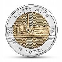 5 zł 2016 - Księży Młyn w Łodzi