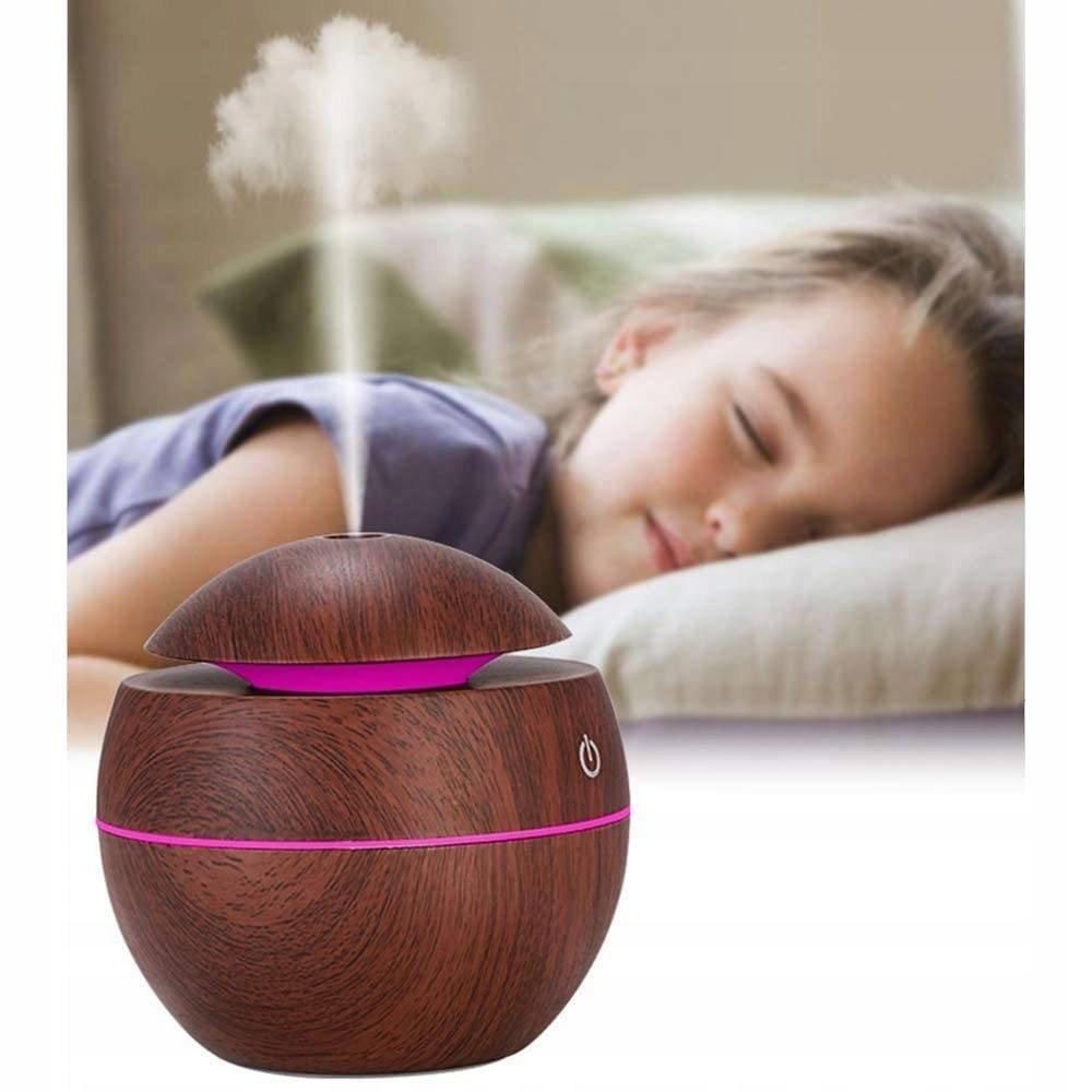 Zvlhčovač vzduchu, difuzér vůně, aromaterapie, zvlhčovací filtry