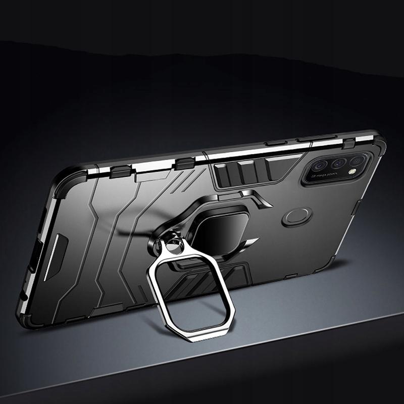Etui Pancerne Case + Szkło do Samsung Galaxy M21 Producent INNY