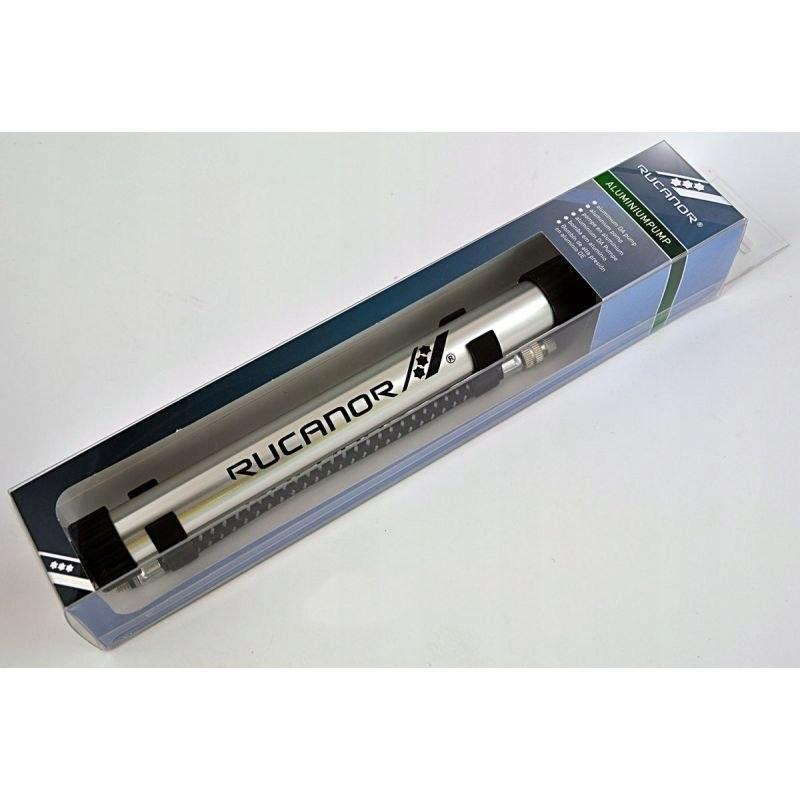 Pompka do piłki RUCANOR aluminiowa 27028 купить из Европы доставка в Украину.