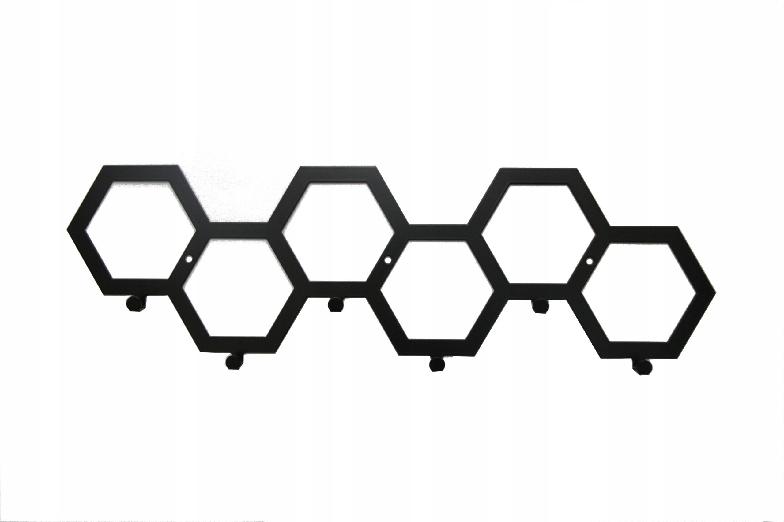 Настенная вешалка металлическая Honey 60 см
