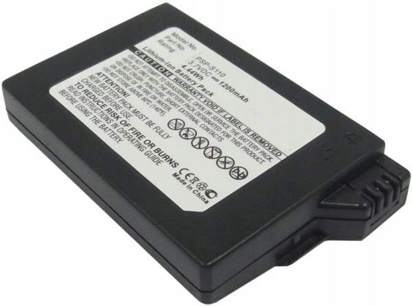 Item BATTERY PSP-S110 FOR SONY PSP SLIM LITE 2000 3000