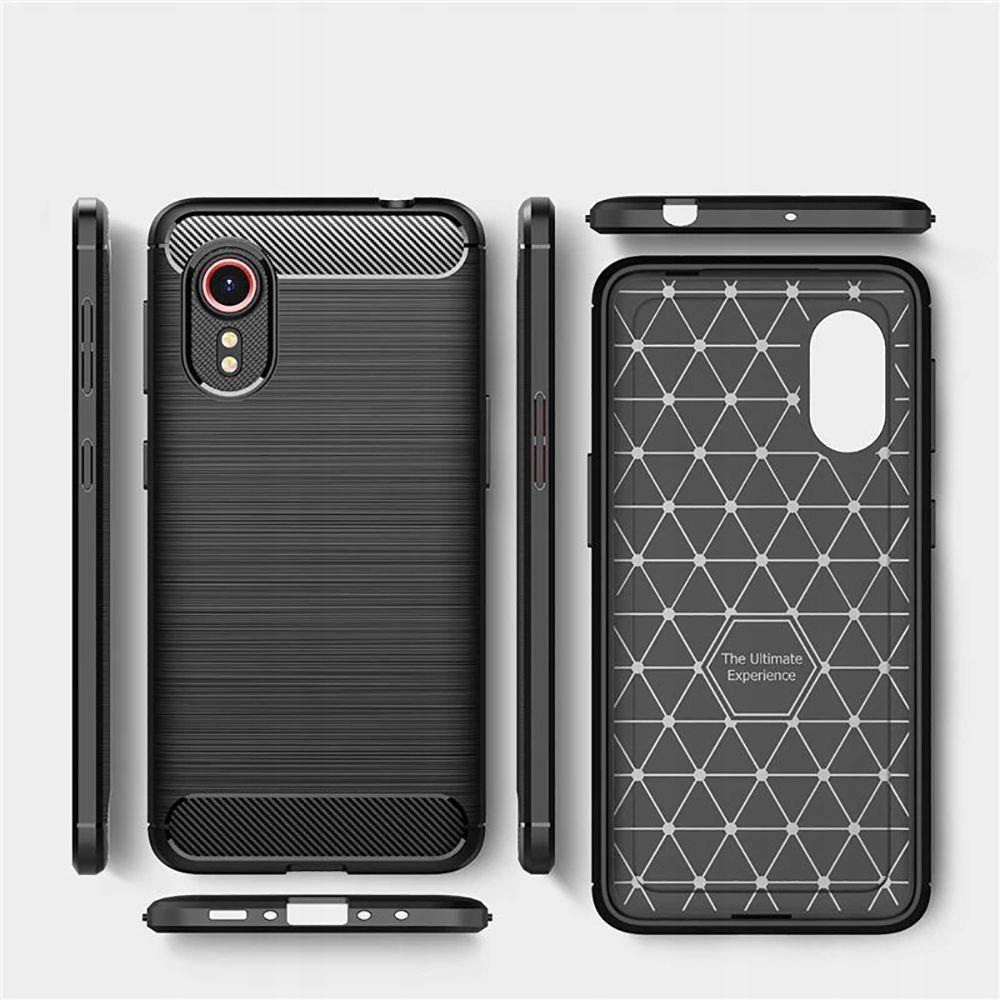 Etui Tpucarbon + Szkło do Samsung Galaxy Xcover 5 Dedykowany model Samsung Galaxy Xcover 5