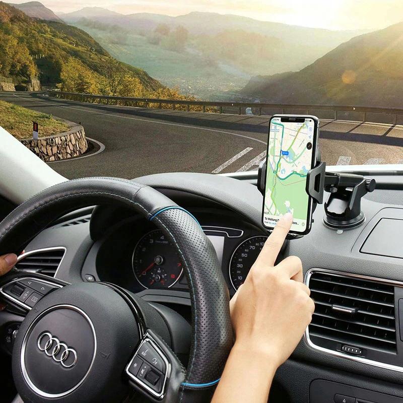 MOCNY Uchwyt Samochodowy na Telefon Szybę Deskę Producent KrainaGSM
