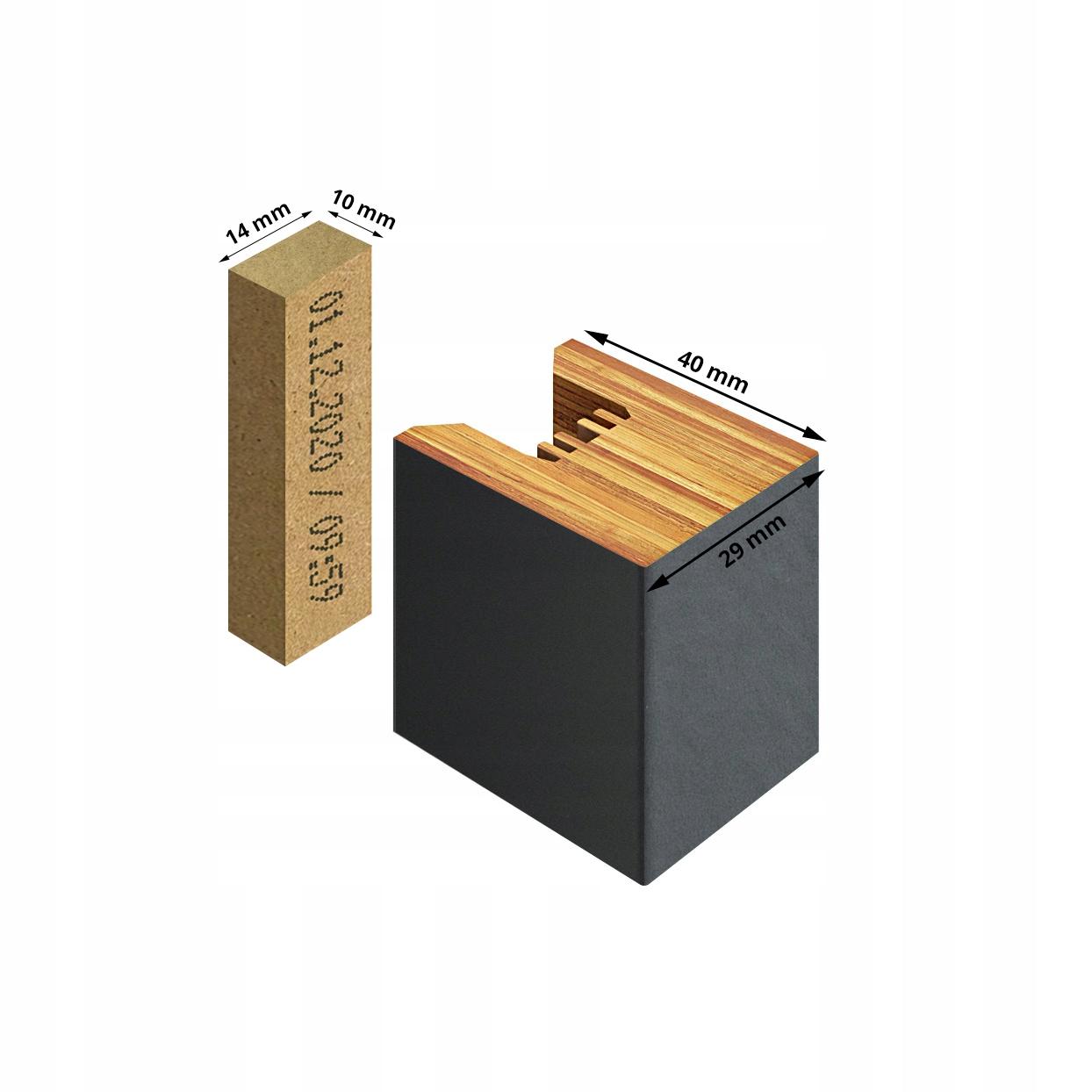 Купить ПАНЕЛИ настенные 3D LAMELE PREMIUM антрацит 36 шт. на Otpravka - цены и фото - доставка из Польши и стран Европы в Украину.