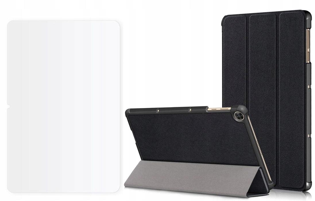 Etui do Huawei Matepad T10 / T10S Czarny + Szkło