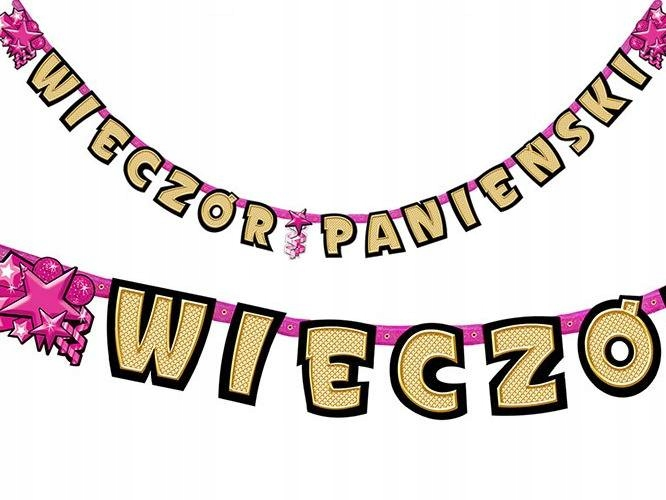 Item A banner for a bachelorette party 3M Maiden garland