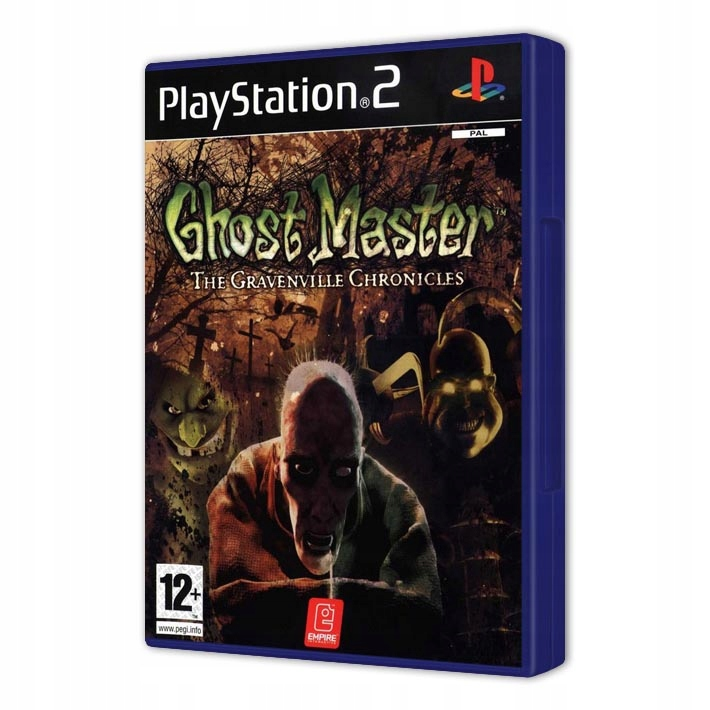 GHOST MASTER GRAVENVILLE CHRONICLES NOVÉ PS2