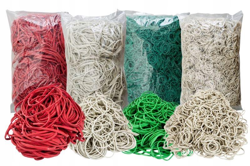 Erasers Recepty 1 kg rôznych veľkostí a farieb