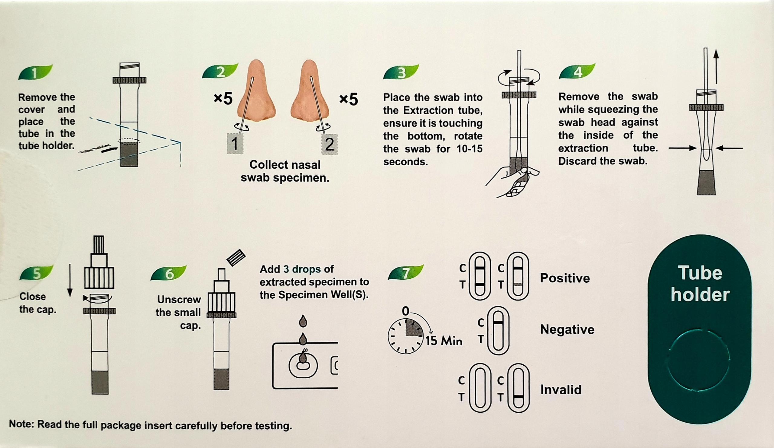 BERIGHT SZYBKI TEST ANTYGENOWY C-19 LEGALNY Kod producenta Beright SARS-CoV-2 Antigen Rapid Test