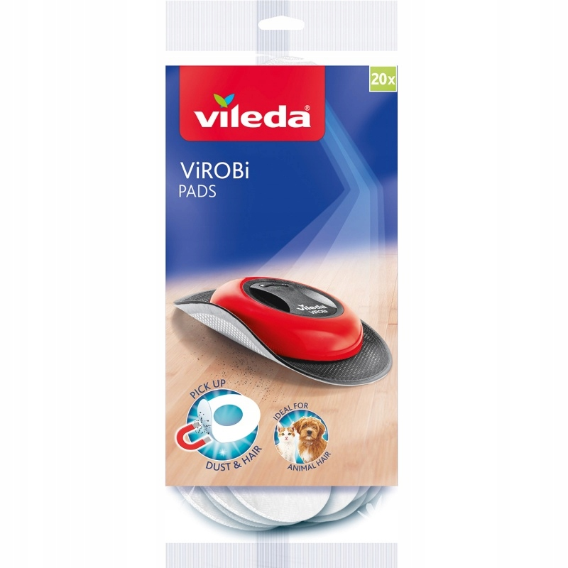 VILEDA Картриджи для швабры автоматического ViRobi 20x