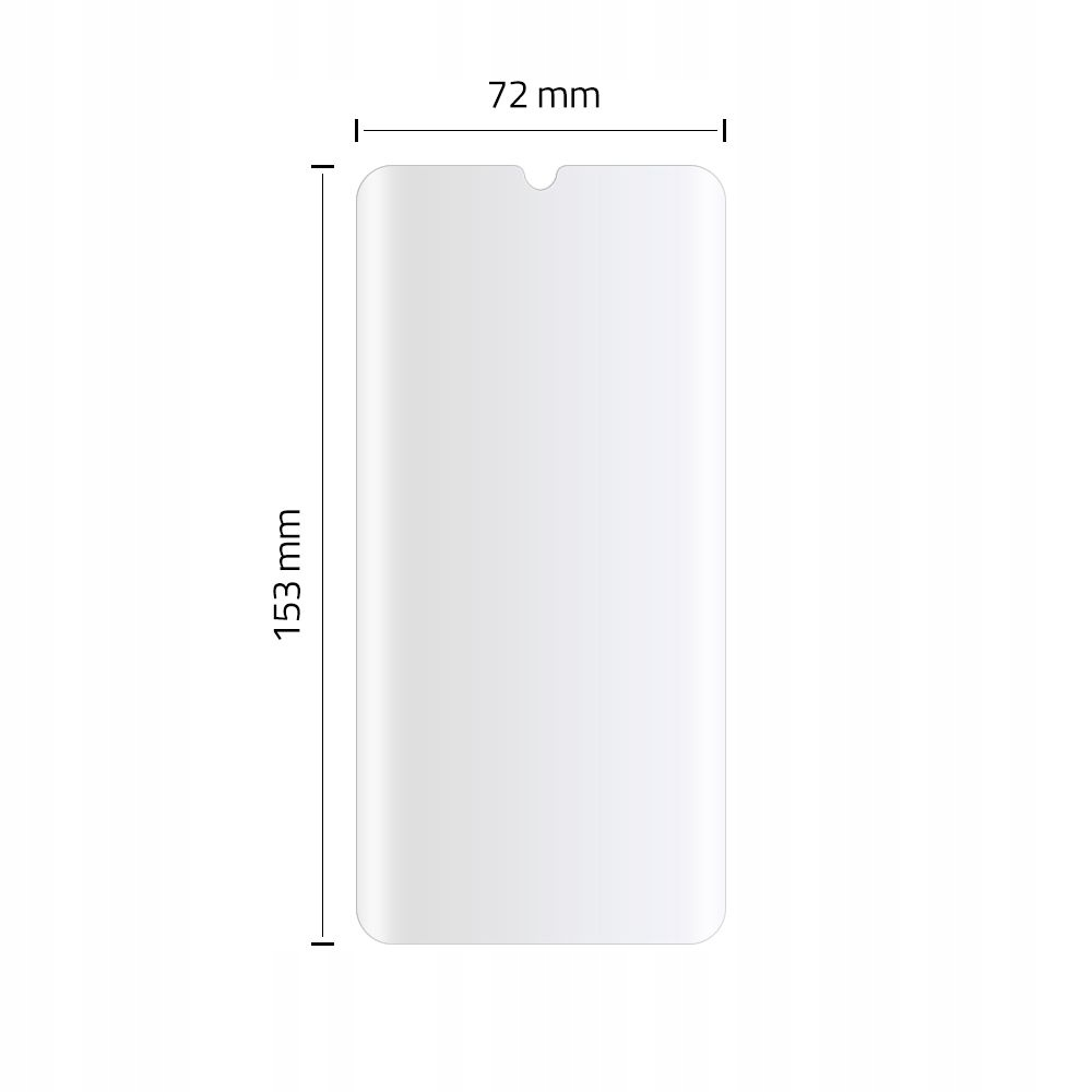 Szkło UV do Xiaomi Mi Note 10 / Lite / Pro Dedykowany model Xiaomi Mi Note 10 / Lite / Pro