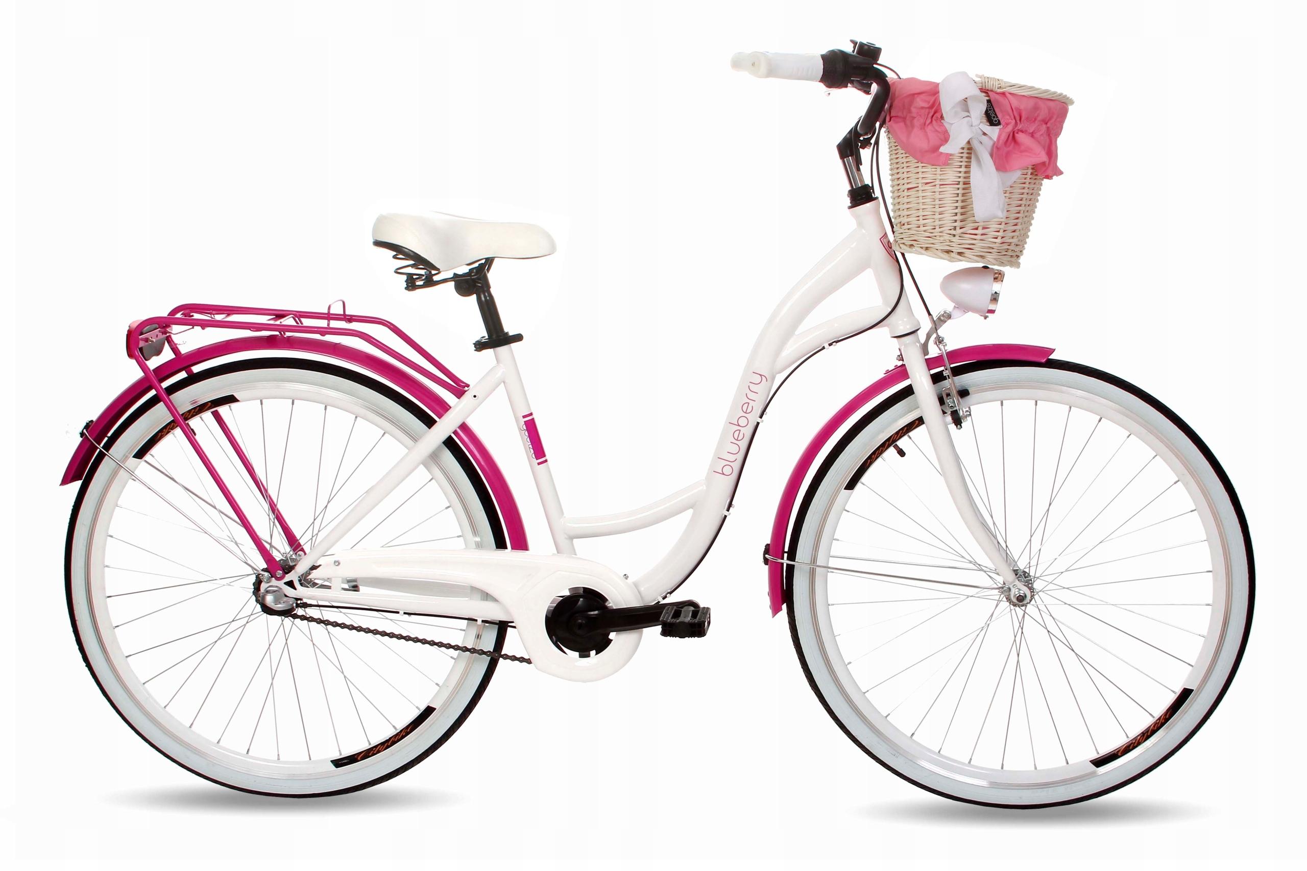 Dámsky mestský bicykel Goetze BLUEBERRY 28 3b košík!  Veľkosť rámu 18 palcov