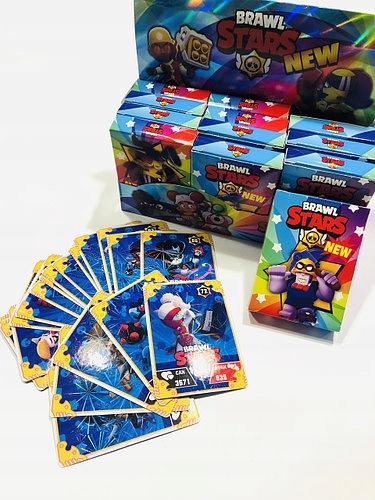 BRAWL STARS BOX CARDS 24x12 Booster 288 KARTA