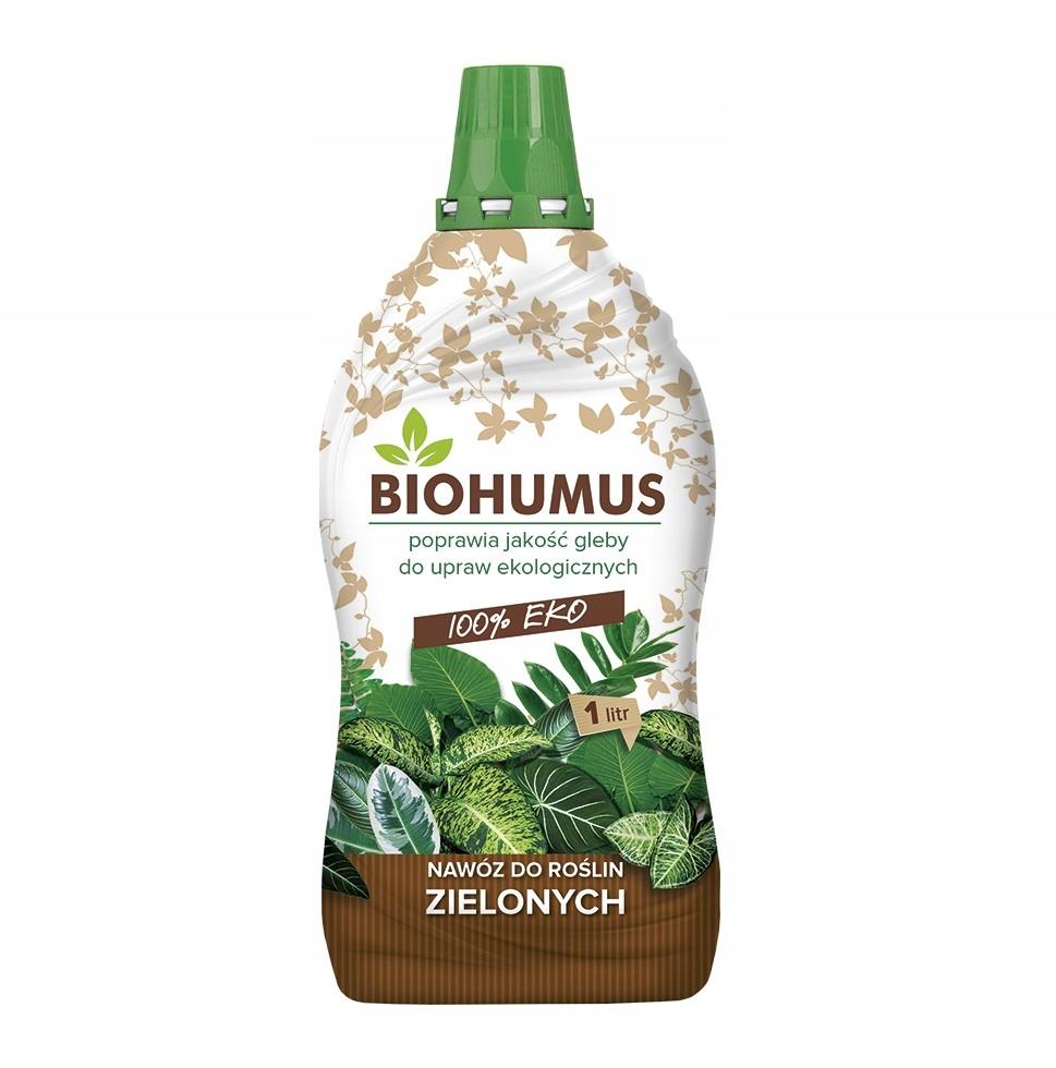 Экологическое удобрение БИОГУМУС для комнатных растений 1л