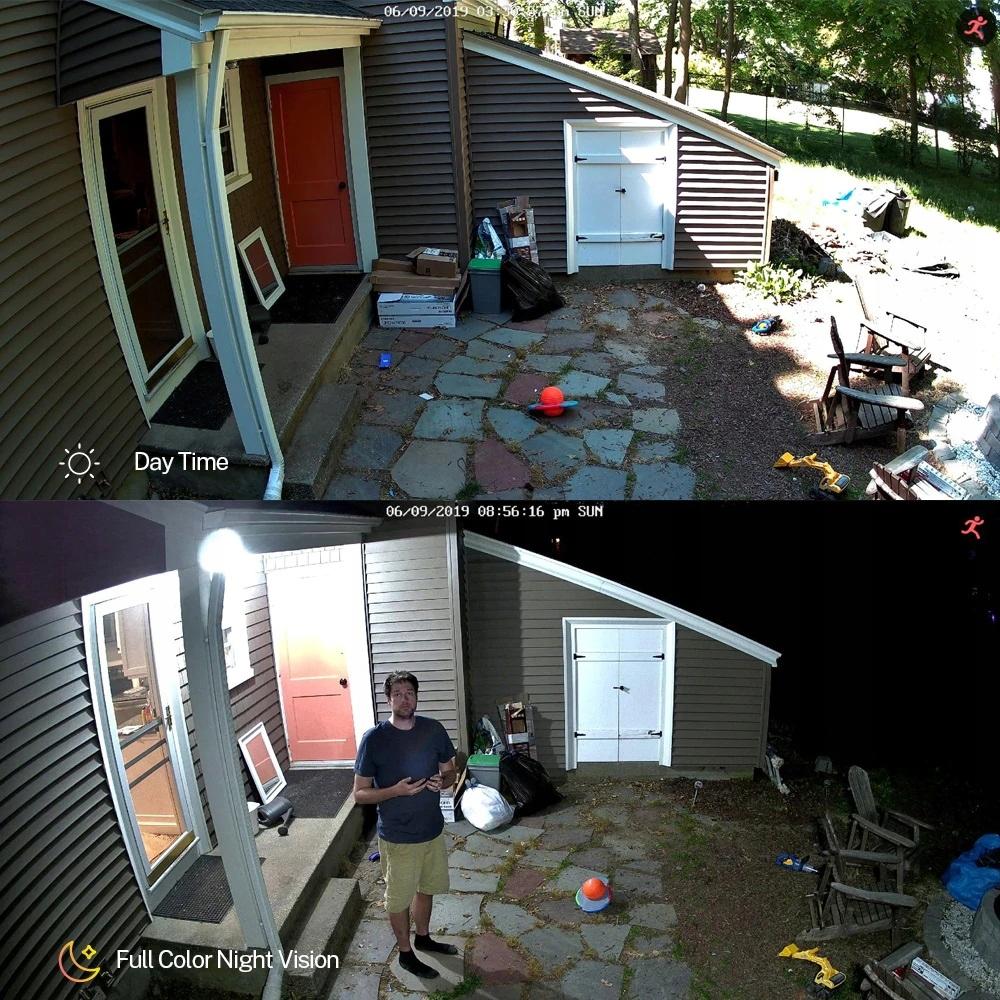 Kamera AHD, HD-CVI, HD-TVI, PAL ColorVu 5MPX Typ kamery czarno-biała kolorowa na podczerwień