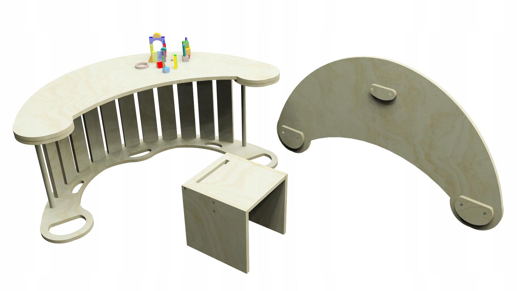 Blat i krzesełko do bujaka Coccolone 120 XL