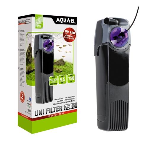 AQUAEL UNIFILTER 750 UV FILTR WEWNĘTRZNU LAMPA UV
