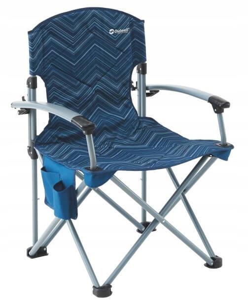 Kempingová stolička Modrá Outwell Fountain Hills