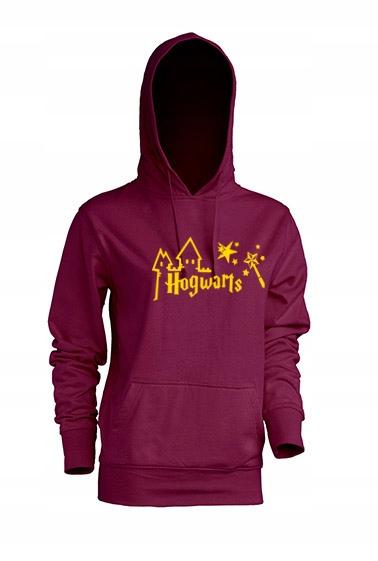 Bluza Damska z kapturem Potter złoty zamek-L