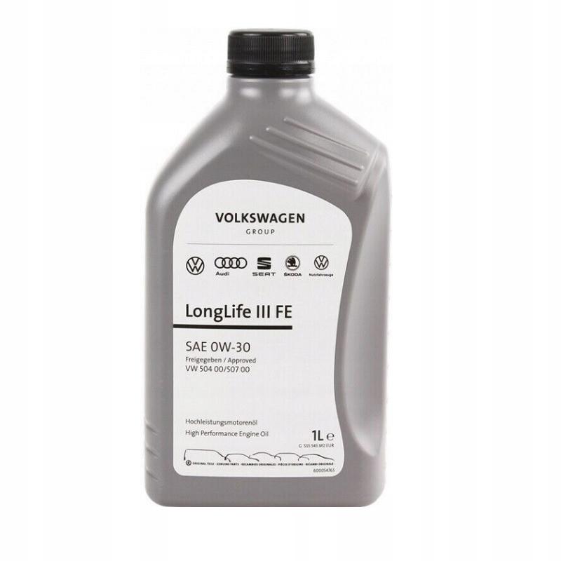 Oryginalny Olej Vw Longlife 0W30 504.00/507.00 1L 2
