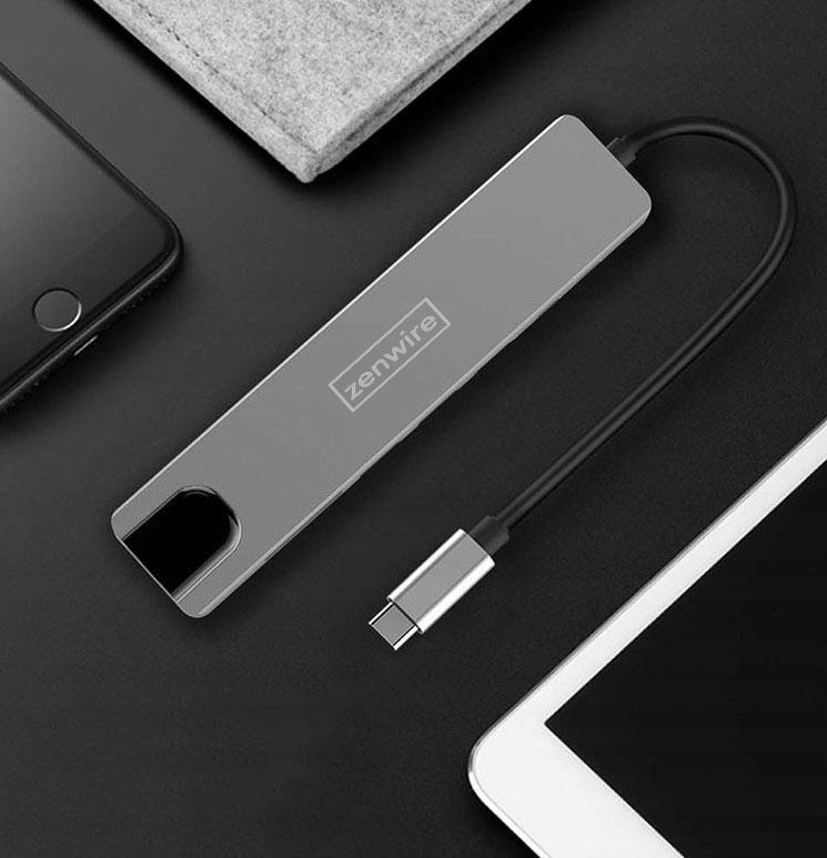 ADAPTER HUB 9w1 USB-C HDMI RJ45 Ethernet SD Mac M1 Kod producenta Przejściówka Macbook Pro Air Thunderbolt