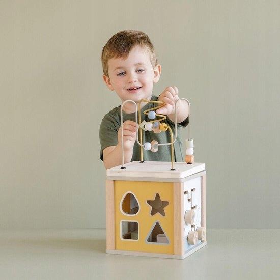 Little Dutch Kostka aktywizująca Mięta Little Goos Wysokość produktu 40 cm