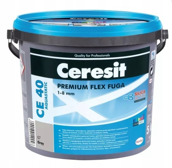 CERESIT CE40 GROOVE GREY 07 GREY водонепроницаемый 2 кг