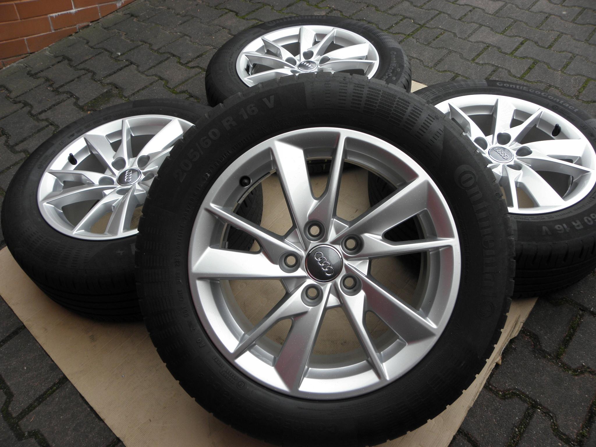Диски 16 5x112 Audi A4 A6 205 / 60R16