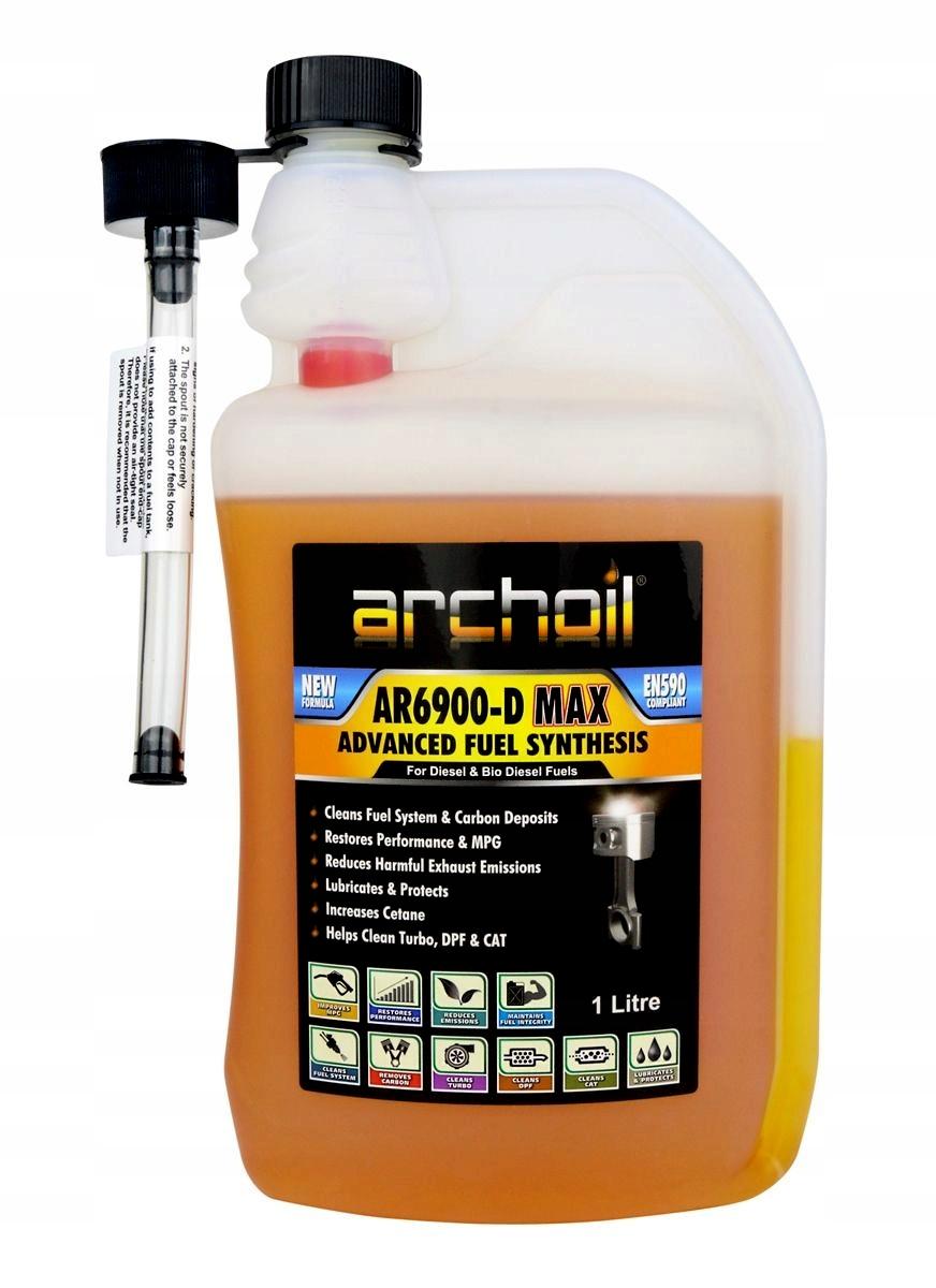 Archole AR6900-D MAX 1 литр приложение к дизелю