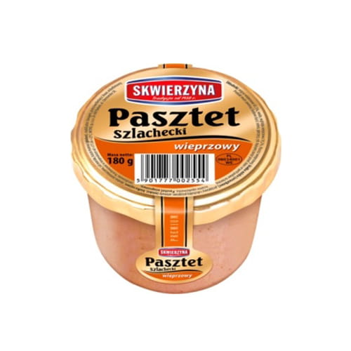 PASZTET Premium SZLACHECKI WIEPRZOWY 180g