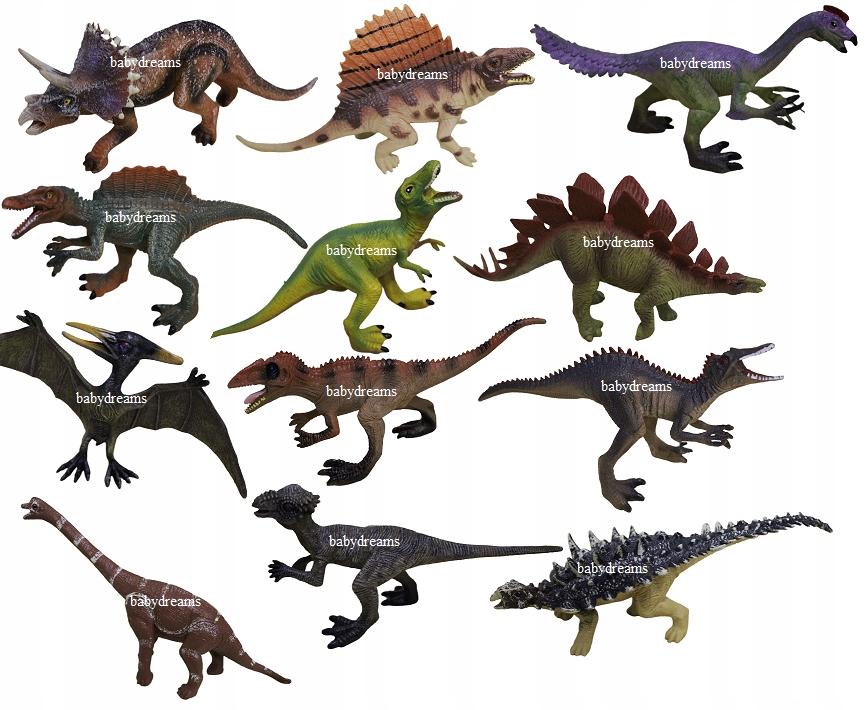 Figúrky Dinosaury 12 ks Jurský svet Dinosaurov