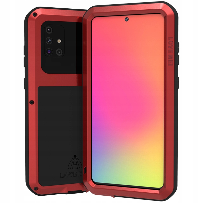Etui + szkło do Galaxy A71, case, Love Mei P