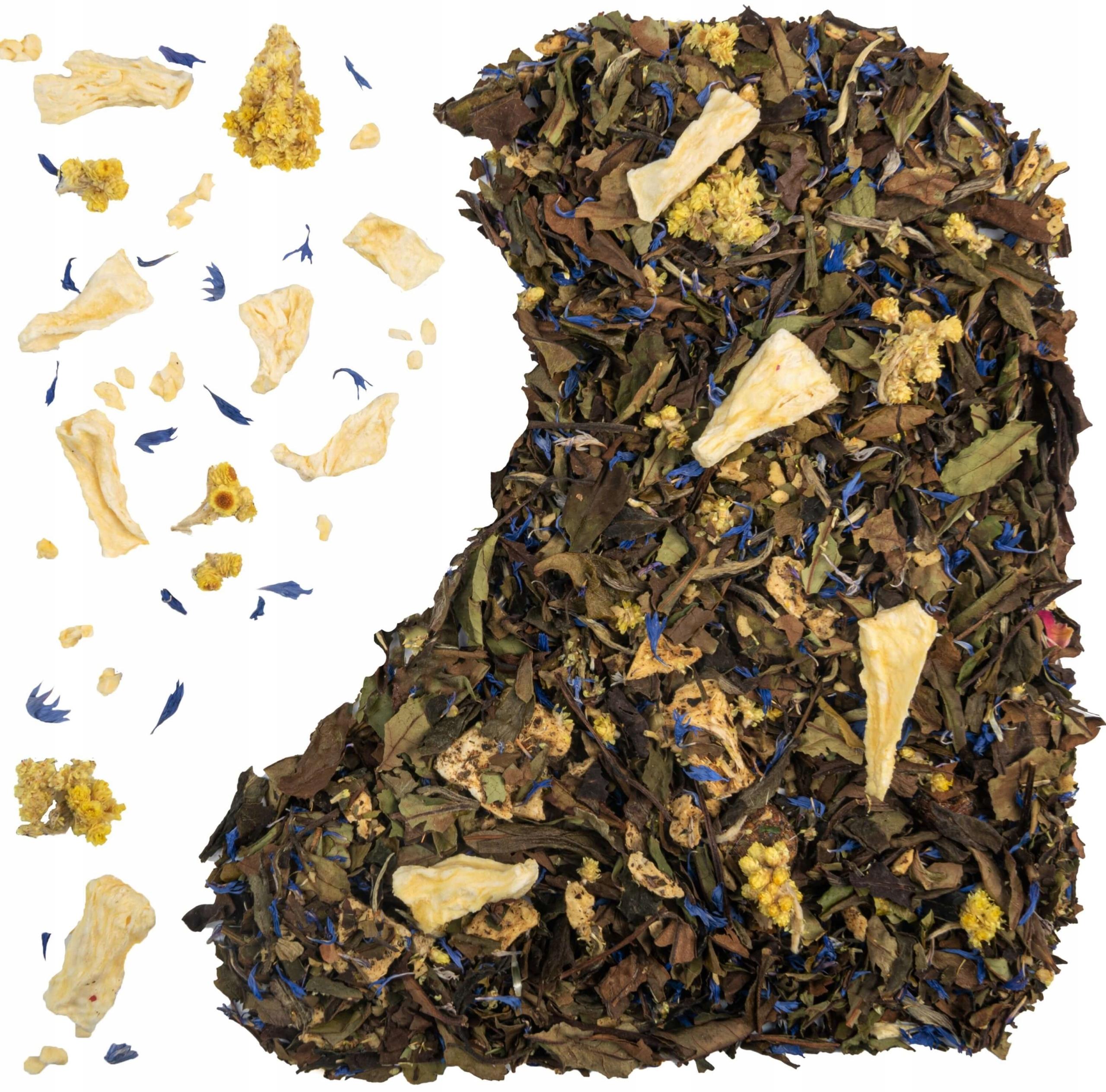 БЕЛЫЙ чай СЛАДКИЙ ананас маракуйя
