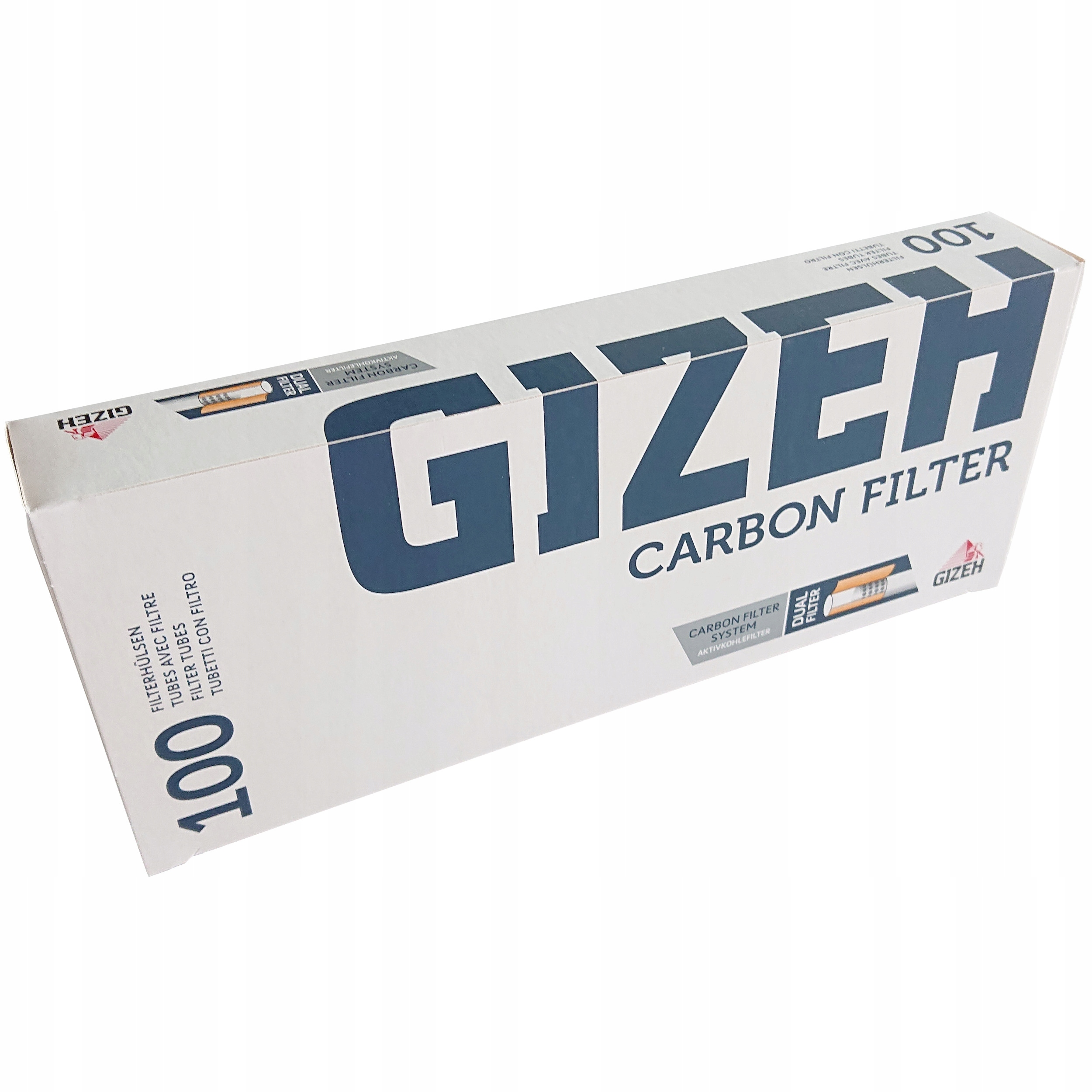 Сигаретные гильзы Gizeh Carbon 100 шт.