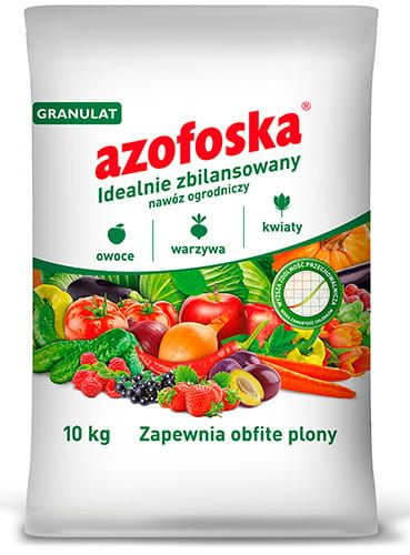 Садовые удобрения Азофоска гранулы 10 кг мешок