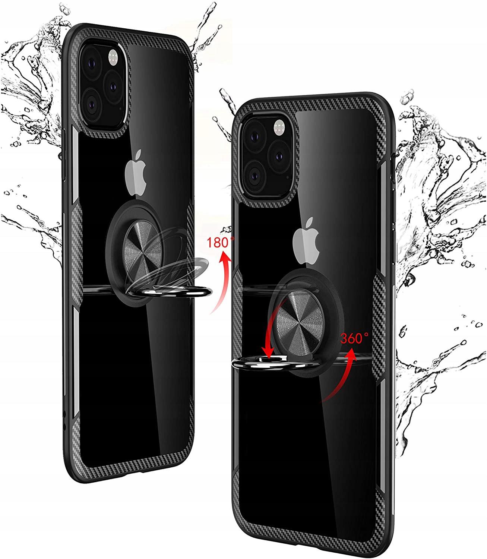 Etui Ring + Szkło do iPhone 11 Pro / X / XS Kolor czarny