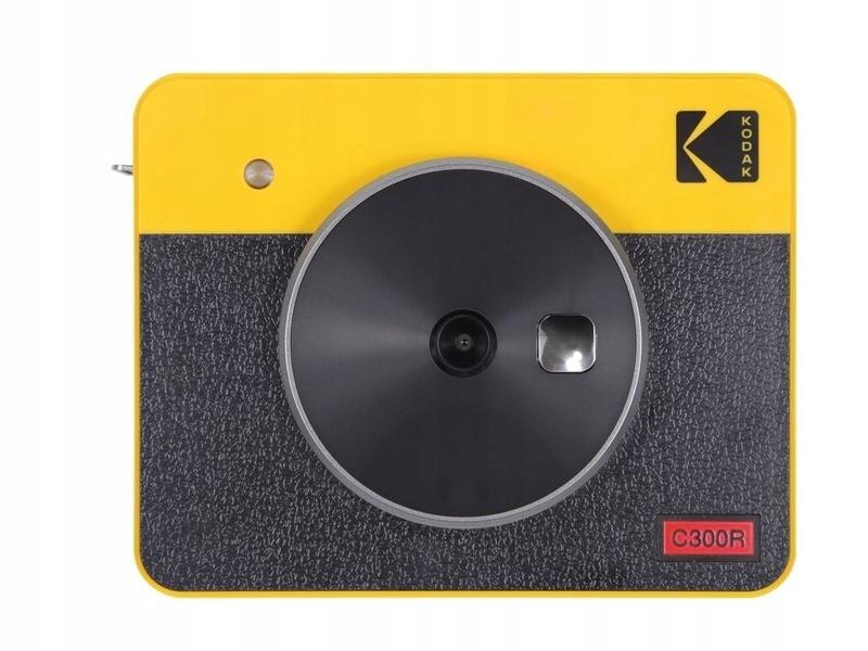 Retro žltá kamera KODAK Mini Shot Combo 3
