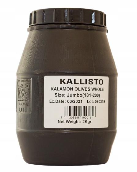 Olivy čierne Kallisto Grécko 2 kg