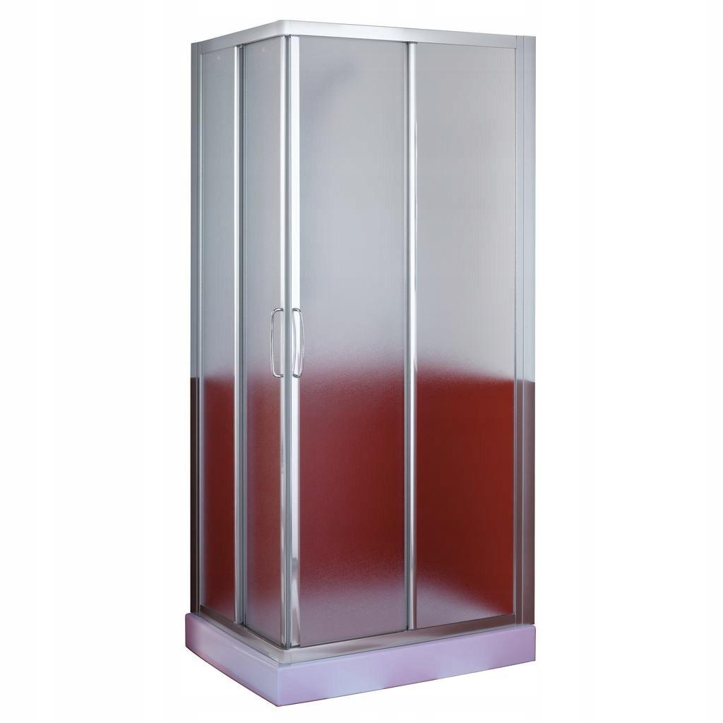 NEMECKÝ sprchový kút 70x70 matné sklo